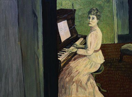 Porträts von van Gogh gaben die Personen vor, die in der Geschichte eine Rolle spielen. Hier ist Marguerite zu sehen, die Tochter seines Nervenarztes.