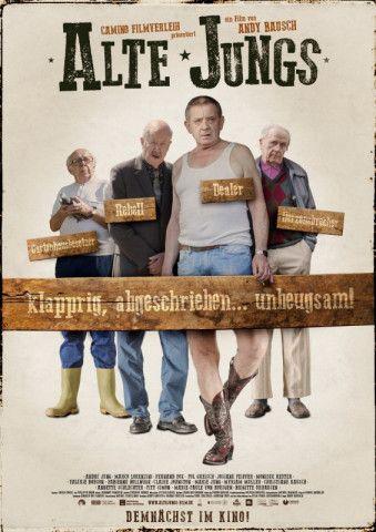 """Vier """"Alte Jungs"""" haben genug vom Dasein im Seniorenwohnheim und wollen """"eine Art Kommune"""" gründen."""