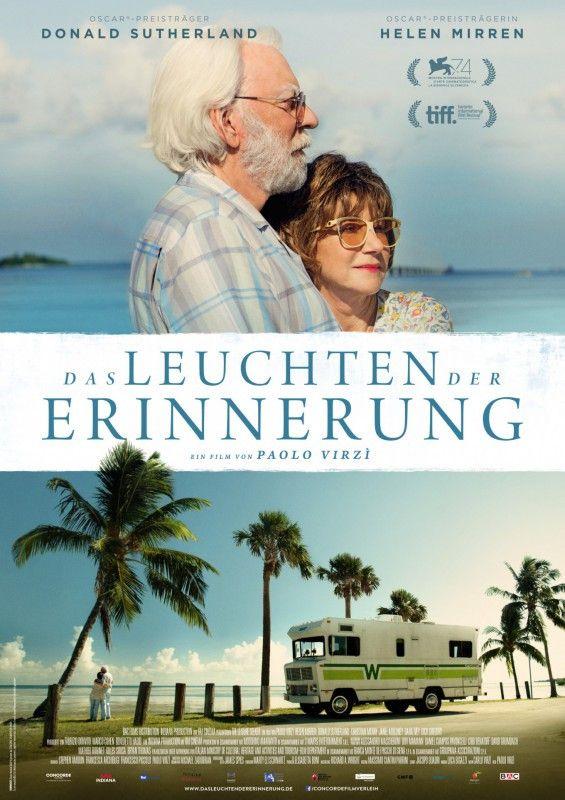 """Helen Mirren und Donald Sutherland brillieren als altes Ehepaar in Paolo Virzìs Dramödie """"Das Leuchten der Erinnerung""""."""