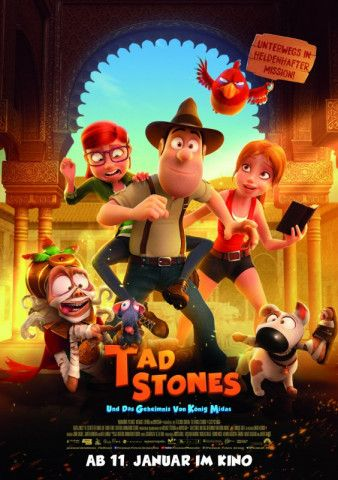 Tad Stones, das ist ein Bauarbeiter mit Ambitionen, Archäologe zu werden.