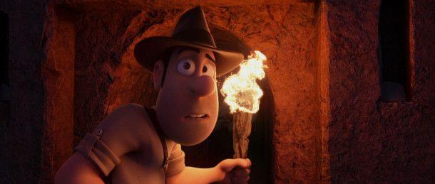 """In der Fortsetzung von """"Tad Stones - Der verlorene Jäger des Schatzes!"""" muss der knubbelnasige Held erneut ein Abenteuer bestehen."""