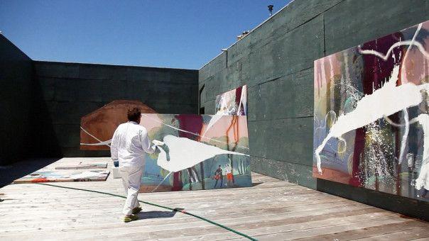 Großformatige Bilder sind Julian Schnabels künstlerisches Gebiet.