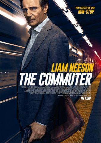 """Ein Mann, ein Zug: Liam Neeson hetzt in """"The Commuter"""" durch einen Pendlerzug, um eine Katastrophe zu verhindern."""