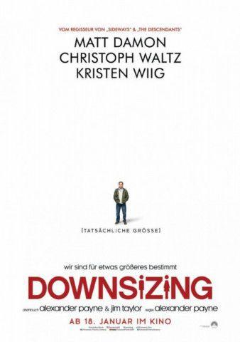 """Menschen mögen sich schrumpfen lassen, ihre Probleme hingegen nicht: Alexander Payne hat mit """"Downsizing"""" ein ziemlich skurriles Filmexperiment inszeniert."""