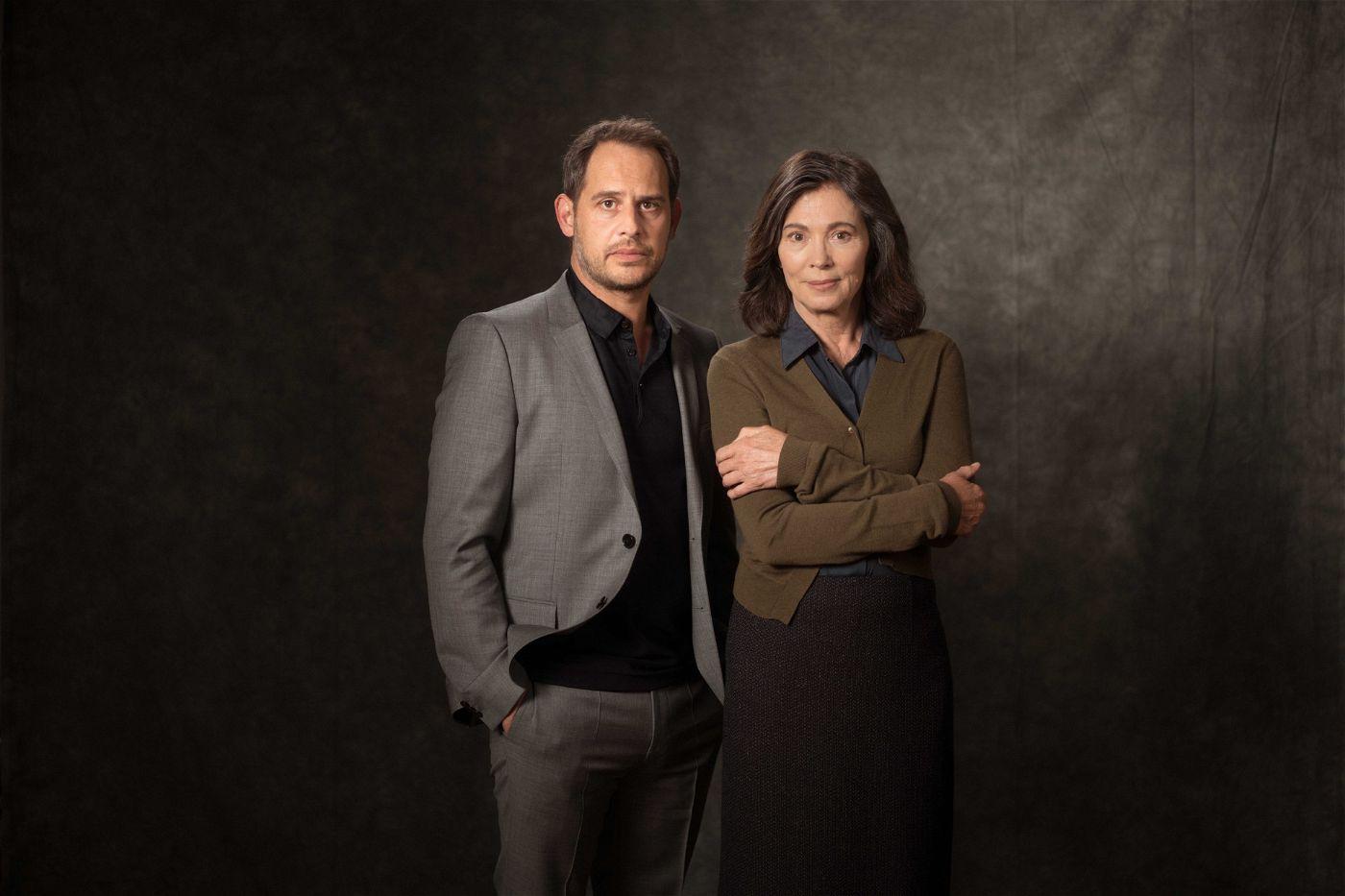 """Iris Berben spielt die Hauptrolle in der ZDF-Drama-Serie """"Die Protokollantin"""". Mit dabei ist auch Moritz Bleibtreu. Ein Starttermin für 2018 wurde noch nicht bekanntgegeben."""