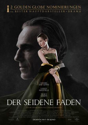 """""""Der seidene Faden"""" ist die zweite Zusammenarbeit zwischen Regisseur Paul Thomas Anderson und Oscarpreisträger Daniel Day-Lewis."""