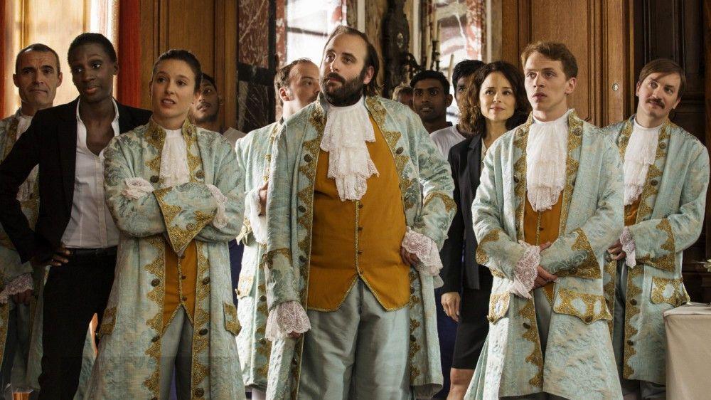 Das Team von Hochzeitsplaner Max probt den Aufstand.