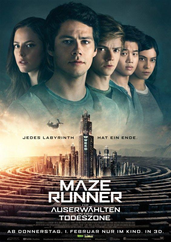 """""""Maze Runner - Die Auserwählten in der Todeszone"""" ist der dritte Teil der Maze-Runner-Trilogie."""