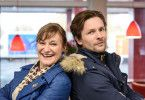 """Andreja Schneider als Yasmina und Bert Tischendorf als Hannes Beck in der RTL-Serie """"Beck is back!""""."""