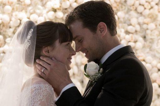 Wer hätte gedacht, dass Ana (Dakota Johnson) und Christian (Jamie Dornan) tatsächlich vor dem Traualtar landen.