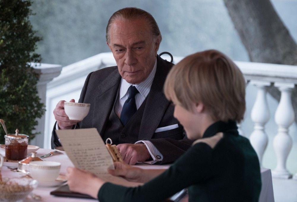 J.P. Getty (Christopher Plummer) belehrt seinen Enkel, niemals Bittbriefen nachzugeben.
