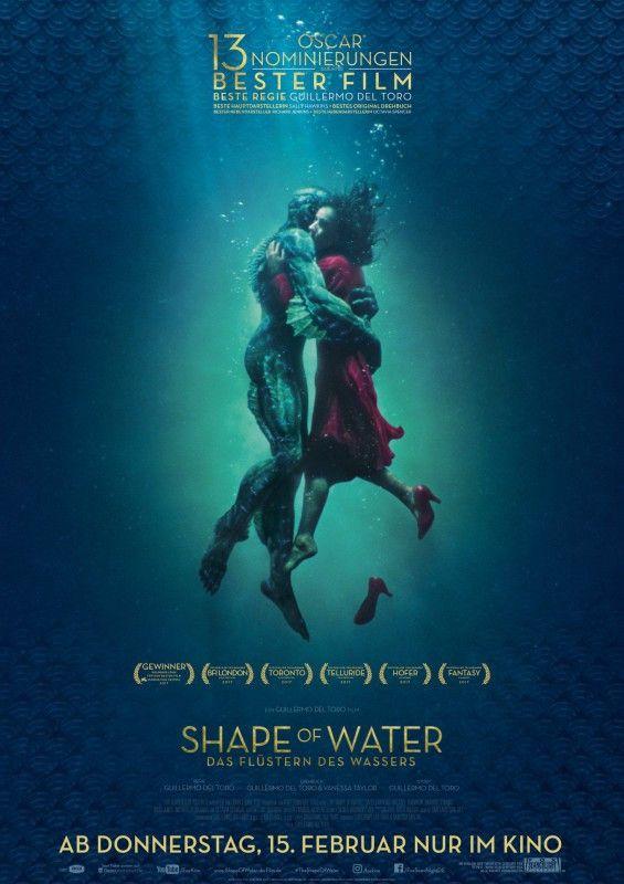 """""""Shape of Water - Das Flüstern des Wassers"""" ist eine wunderbar gefilmte Fantasy-Romanze."""