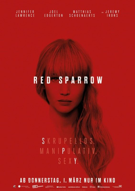 """Jennifer Lawrence wird in """"Red Sparrow"""" zur russischen Spionin."""
