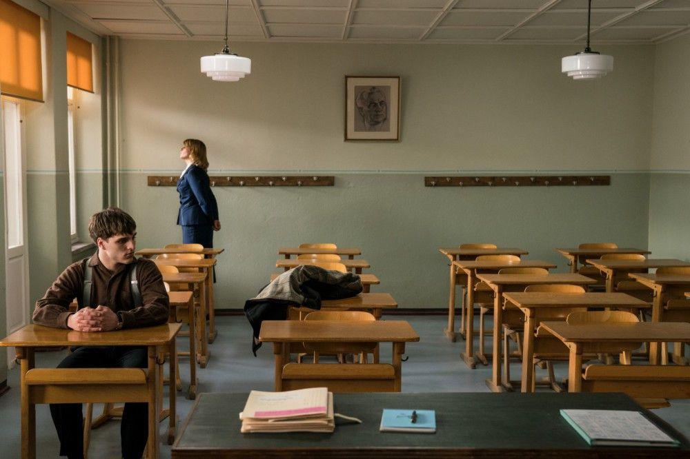 """Motiv aus """"Das schweigende Klassenzimmer"""""""