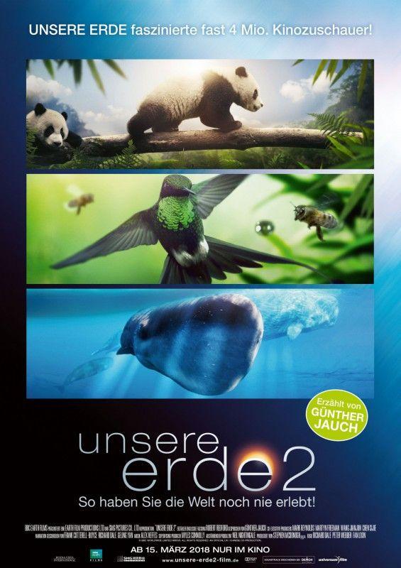 """Nachdem vor zehn Jahren """"Unsere Erde"""" zum Kinoerfolg wurde, folgt nun mit """"Unsere Erde 2"""" die Fortsetzung der Natur- und Tierdokumentation."""