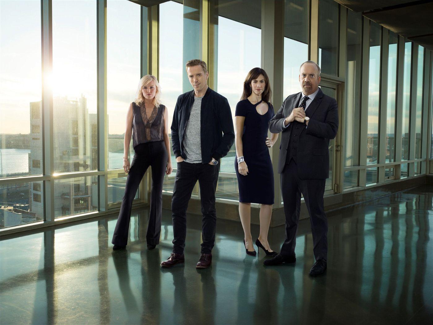 """Die dritte Staffel der US-Serie """"Billions"""" ist am 26. März 2018 nur wenige Stunden nach ihrer US-Premiere bei Bezahlsender Sky gestartet."""