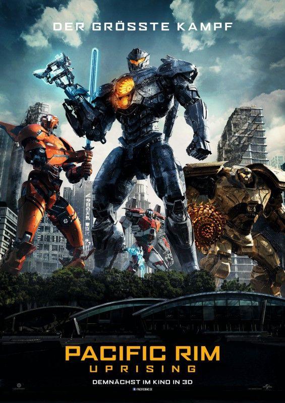 """Mit """"Pacific Rim: Uprising"""" kommt die Fortsetzung des Monster-Roboter-Krachers """"Pacific Rim"""" von 2013 in die Kinos."""