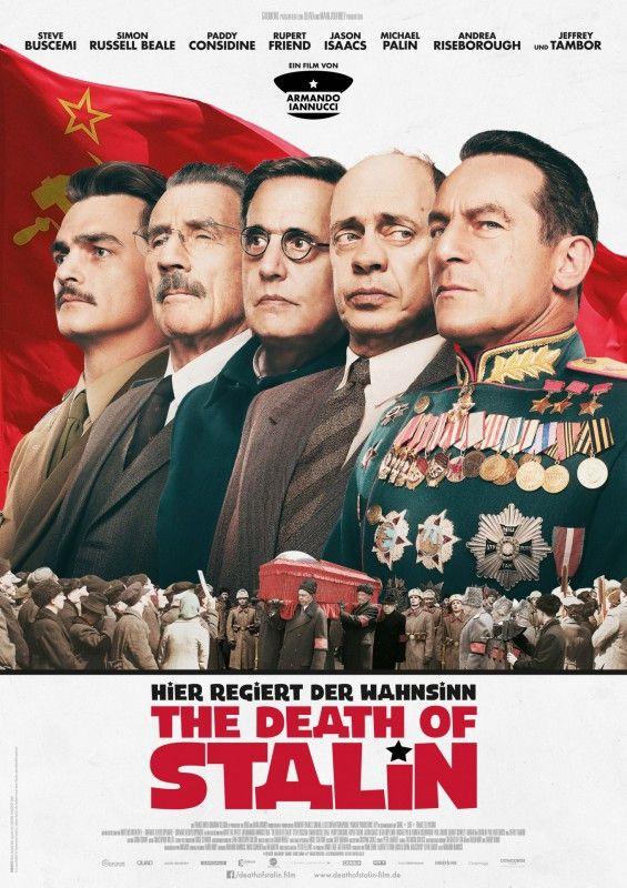 """Bitterböse, aber urkomisch: """"The Death of Stalin"""" ist der vielleicht lustigste Film des Jahres."""