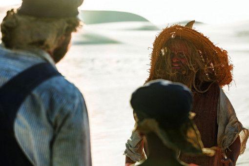 In der Wüste treffen die beiden Freunde auf den Scheinriesen Tur Tur (Milan Peschel).