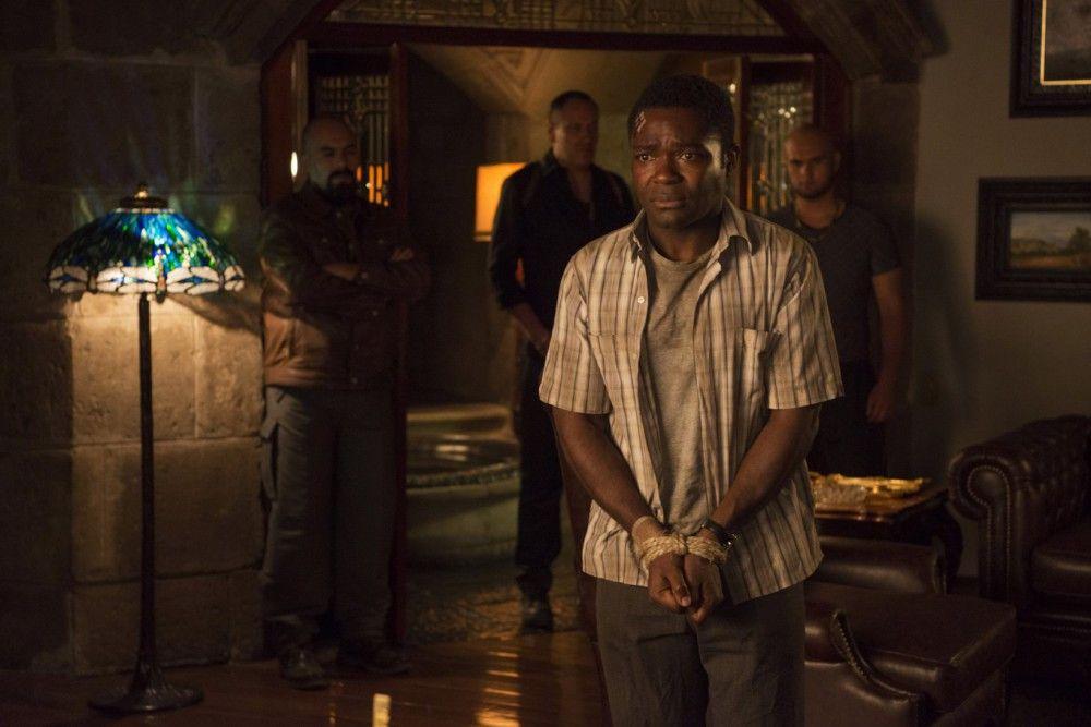 "Bald sind alle hinter ""Gringo"" Harold (David Oyelowo) her."