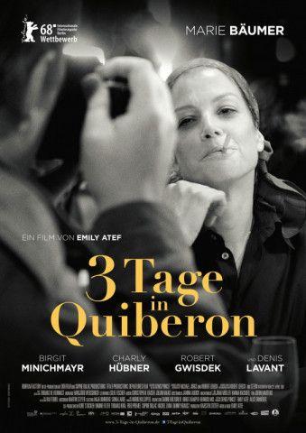 """Emily Atef versucht in """"3 Tage in Quiberon"""" die ungeschminkte Romy Schneider aufblitzen zu lassen - mit Marie Bäumer in der Hauptrolle."""