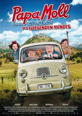 """Zu bieder und zu seelenlos: Manuel Flurin Hendrys Familienfilm """"Papa Moll und die Entführung des fliegenden Hundes""""."""
