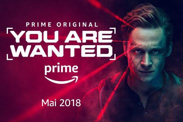 """Die zweite Staffel der ersten deutschen Amazon-Serie, """"You Are Wanted"""", ist am 18. Mai 2018 gestartet."""