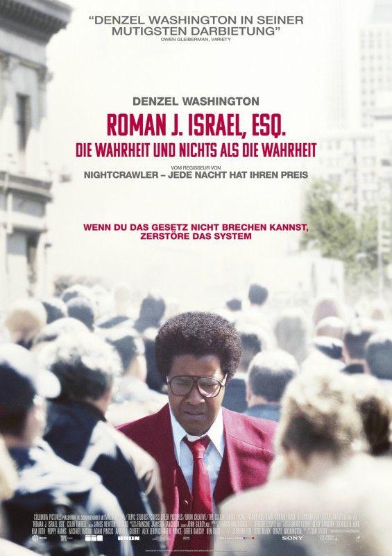 """In """"Roman J. Israel, Esq. - Die Wahrheit und nichts als die Wahrheit"""" spielt Denzel Washington einen idealistischen Pflichtverteidiger."""