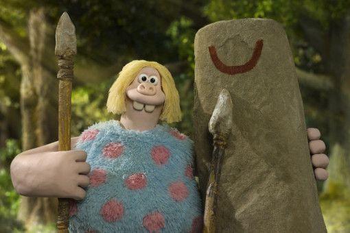 Holzkopf und Steinklotz: Intelligenz ist nicht gerade die Stärke der etwas dümmlichen Steinzeitmenschen.