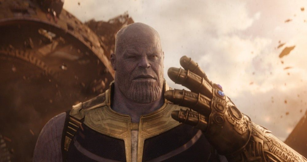 Wenn Thanos (Josh Brolin) alle sechs Infinity-Steine zusammenbekommt, wird er unbesiegbar.