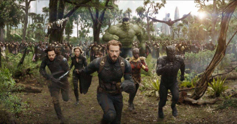 Gemeinsam müssen die Avengers gegen Schurke Thanos in den Kampf ziehen.