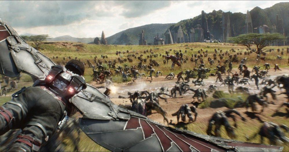 """Motiv aus """"Avengers: Infinity War"""""""