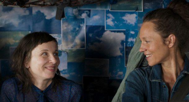 Es hat gefunkt zwischen Charlotte (Meret Becker) und der Truckerin Marion (Sabine Timoteo).