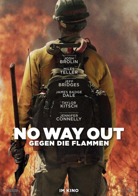 """""""No Way Out - Gegen die Flammen"""" ist ein auf wahren Begebenheiten basierendes Actiondrama."""