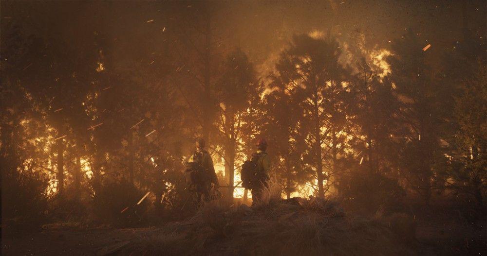 Regisseur Joseph Kosinski legte für den Film kontrolliert Feuer, filmte es und ließe es danach mit CGI-Effekten bearbeiten.