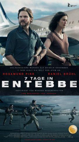 """""""7 Tage in Entebbe"""" erinnert auf der Basis aktueller Zeitzeugenberichte an die einwöchige Entführung eines Passagierflugzeugs der Air France durch palästinensische und deutsche Terroristen."""