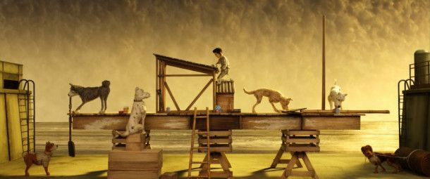 """Es ist mal wieder ziemlich fantasievoll, was Wes Anderson in """"Isle of Dogs"""" veranstaltet."""