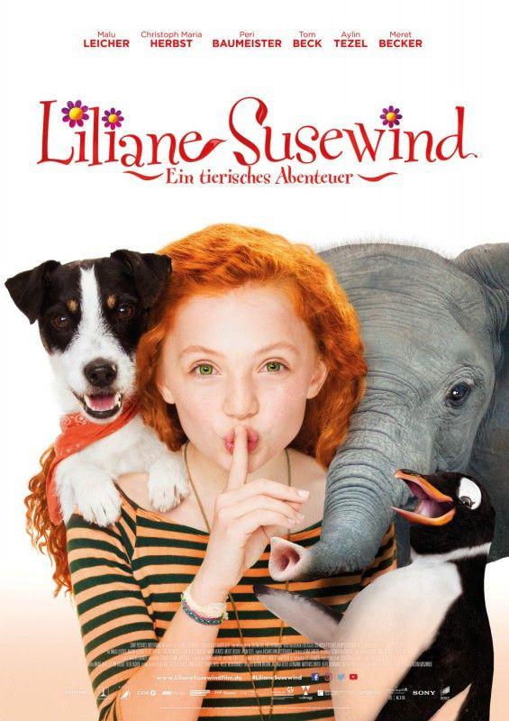Lili (Malu Leicher) mit ihrem Hund und dem zu rettenden Elefantenbaby Ronni.