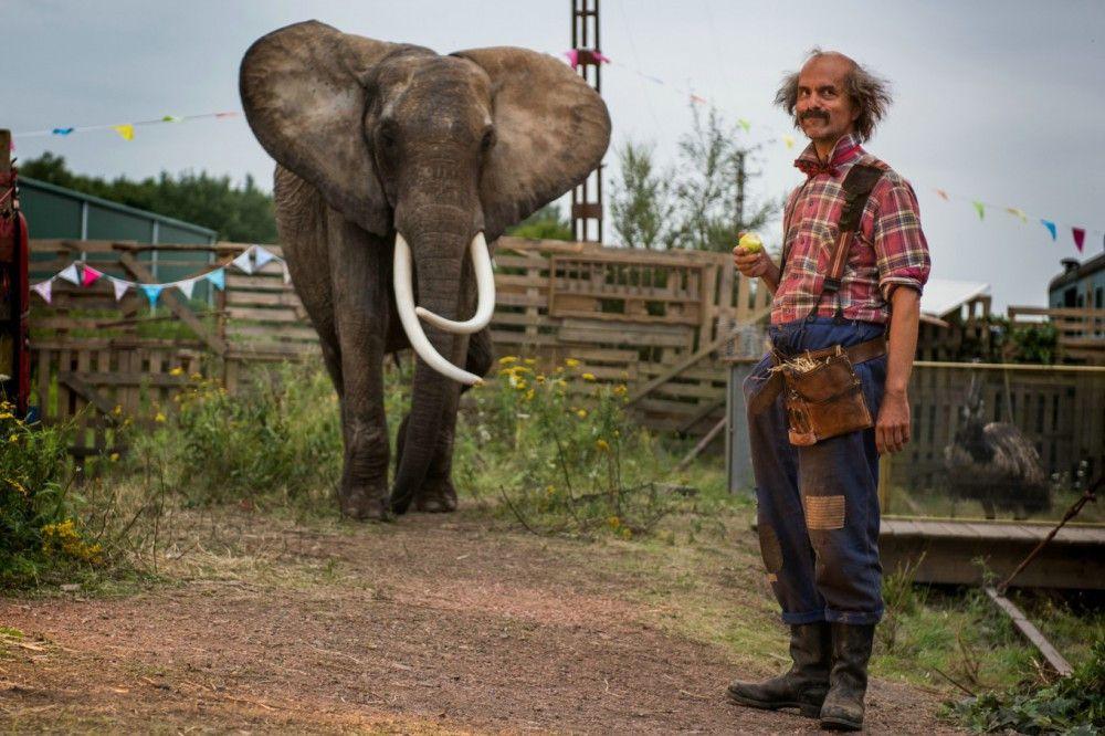 Christoph Maria Herbst mimt den trotteligen Tierpfleger Toni.