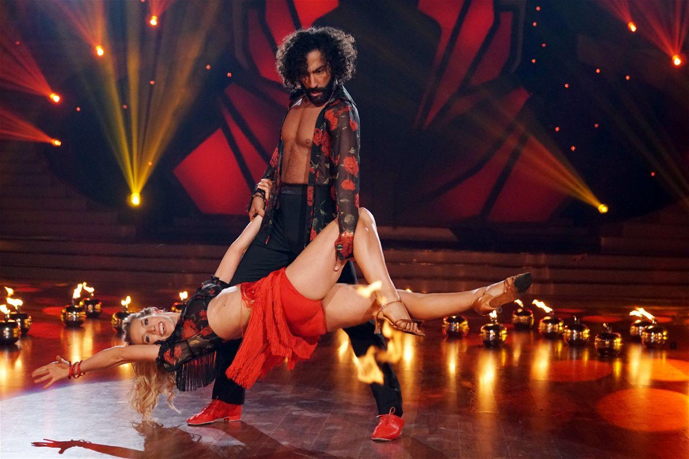 Gehören zu den Top-Tänzern der elften Staffel: Julia Dietze und Massimo Sinato.