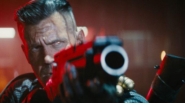 Cable (Josh Brolin) hat es auf den jungen Mutanten Russell abgesehen.