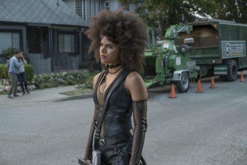 Mutantin Domino (Zazie Beetz) wird Teil von Deadpools Superhelden-Truppe, der X-Force.