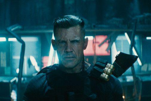 Bösewicht Cable (Josh Brolin) ist ein Supersoldat, der durch die Zeit reist.