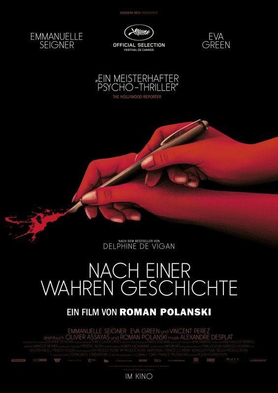 """Einmal mehr hat Roman Polanski einen Psychothriller gedreht. """"Nach einer wahren Geschichte"""" ist allerdings einer der schwächsten Filme des Regisseurs."""