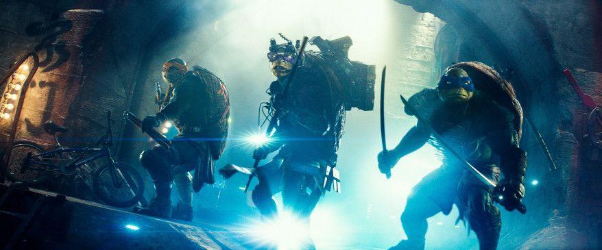 Die humanoiden Schildkröten Donatello, Leonardo, Raphael und Michelangelo nehmen den Kampf gegen ihren Endgegner auf: Ninja-Meister Shredder und seine Fußsoldaten.