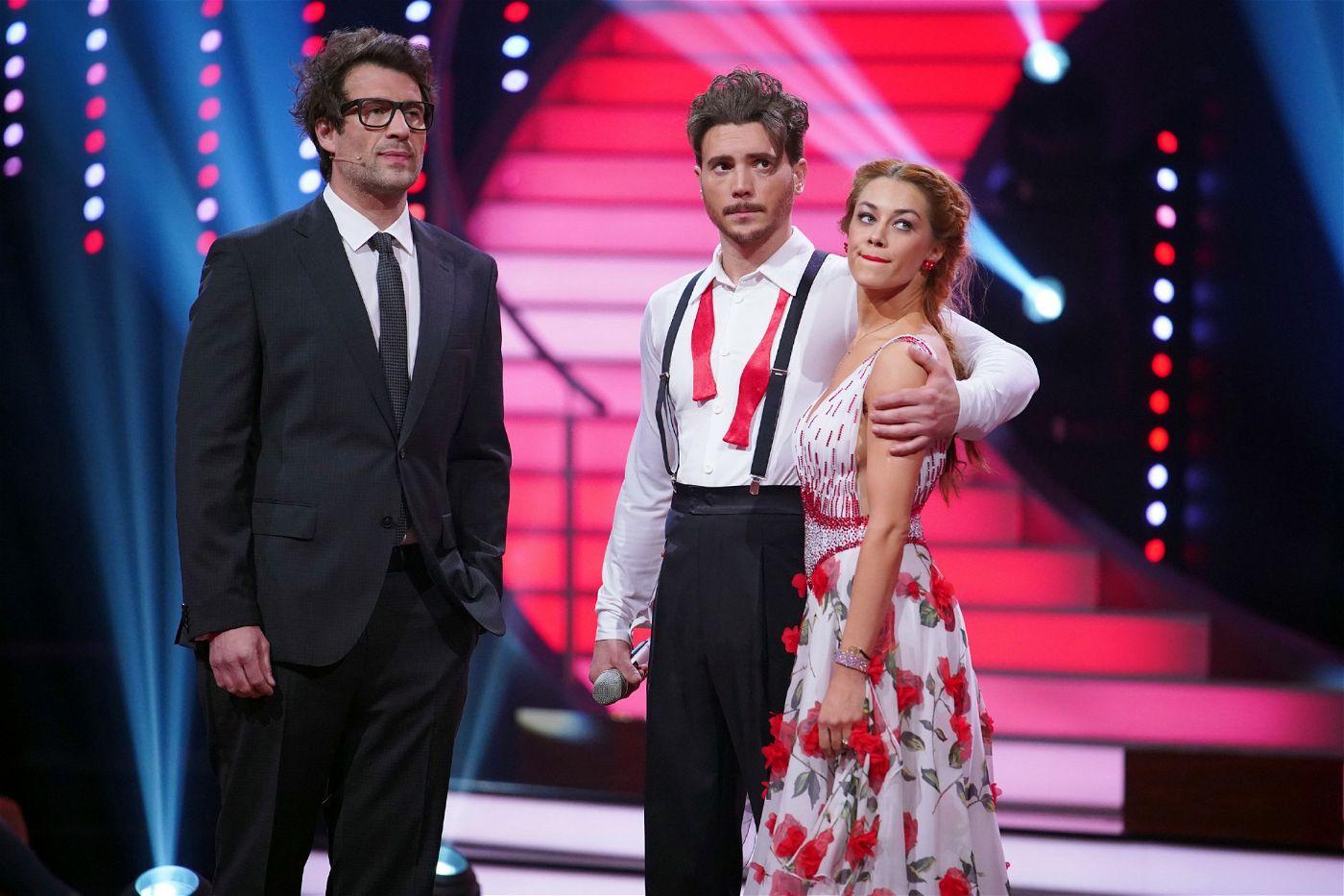 """Der """"Alles was zählt""""-Star bat anschließend darum, den Tanz nach einer Pause noch einmal neu tanzen zu dürfen."""