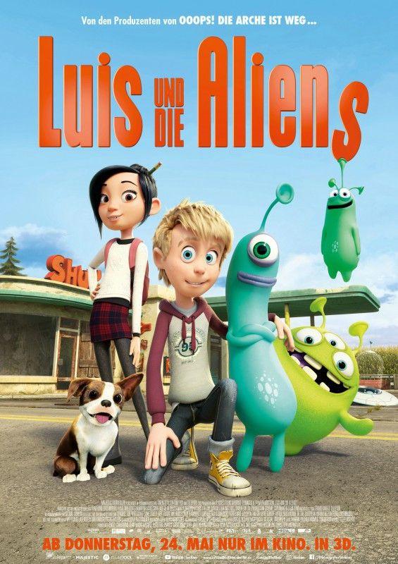 """Die Gebrüder Lauenstein bringen mit """"Luis und die Aliens"""" einen charmanten Animationsfilm in die Kinos."""