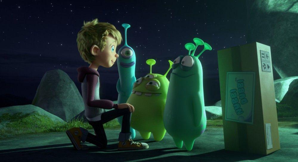 """Motiv aus """"Luis und die Aliens"""""""