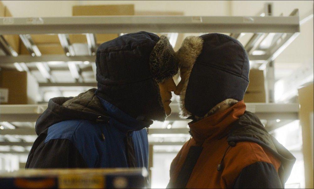 """Und dann war Weihnachten"", erinnert sich Christian (Franz Rogowski), wie er Marion (Sandra Hüller) etwas näher kam."