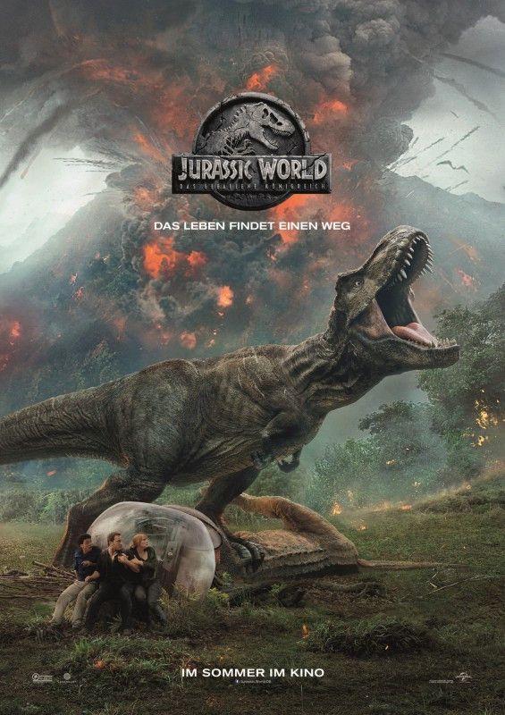 """""""Das Leben findet einen Weg"""": Am 6. Juni kommt der zweite """"Jurassic World""""-Film in die Kinos."""